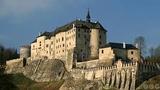 Vánoční nádvoří na hradě Šternberk