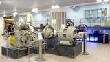 Vodní motory s památníkem Viktora Kaplana