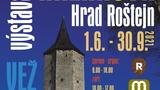 Výstava obrazů ve věži Magdaleny Křenková Hrad Roštejn