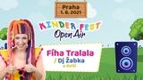 Fíha Tralala v Praze v Kinder Fest Open Air