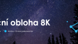 Noční obloha 8K - Planetárium Praha