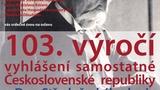 Oslava 103. výročí vyhlášení Československé republiky v Muzeu T. G. Masaryka v Lánech