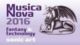 Koncert zvukové tvorby MUSICA NOVA 2016