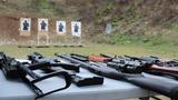 Výukový kurz střelby na venkovní střelnici jako vánoční dárek