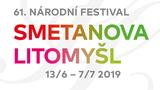 Vstupenky na 61. ročník Smetanovy Litomyšle již od středy 6. března