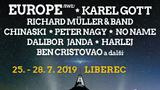 Benátská! s Impulsem? To je oslava hudby, lásky a radosti říkají švédští Europe, kteří zde zahrají v pátek 26. 7.