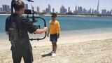 Jan Bendig přivezl videoklip z Dubaje, natáčení provázely problémy