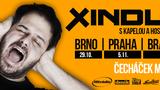 Podzimní turné Xindla X Čecháček Made Tour bude na třech místech