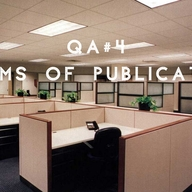 . a. d. o. & Stefan Klein / QA#4 / Forms of Publication