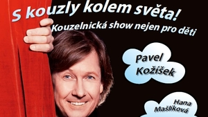 S kouzly kolem světa! – představení pro děti - Divadlo kouzel Palva Kožíška