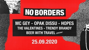 No Borders: MC Gey, Opak Dissu, Hopes a další | Rock Café