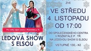 Společenské centrum bude znovu hostit Ledovou show s Elsou