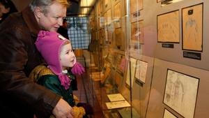 Dětské kresby z Terezína - Pinkasova synagoga