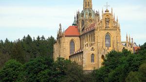 Mše svatá ke cti Panny Marie a svátku sv. Jana Nepomuckého v klášteře Kladruby