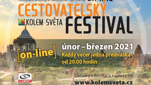 Cestovatelský festival KOLEM SVĚTA běží ONLINE