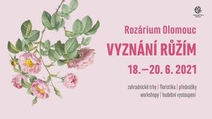 Vyznání růžím 2021 - Výstaviště Flora Olomouc