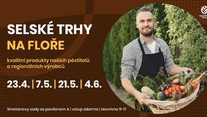 Selské trhy 2021 - Výstaviště Flora Olomouc