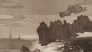 Přednáška | Svět mytologie, reality a fantazie malířky Hermíny Laukotové | ONLINE - Veletržní palác