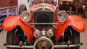 Historická vozidla - Technické muzeum v Brně