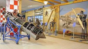 Letecké motory - Technické muzeum v Brně
