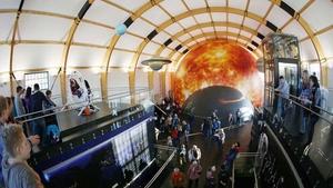 Vesmír - Techmania Science Center
