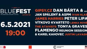 BlueFest Online. Mezinárodní hudební festival online