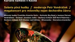 HUDBA SE VRACÍ DO KOLÍNA ... koncert nejen pro milovníky dechového žánru