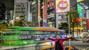 Dominika na cestě Japonskem - Divadlo Dobeška