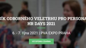 HR days 2021 - PVA EXPO PRAHA