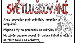 SVĚTLUŠKOVÁNÍ v Orlové