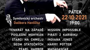 Koncert filmové hudby v KD Ládví
