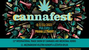 Cannafest 2021 - 11. mezinárodní veletrh konopí a léčivých bylin