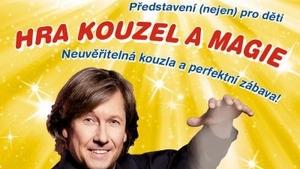 Hra kouzel a magie - Divadlo kouzel Pavla Kožíška