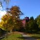 Zámecký park v Klášterci nad Ohří