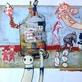 Výstava koláží Davida Vávry a Miroslava Lipiny (ML) zMRKVÝCHvstání aneb recyklace kalendářů a jiných tiskovin Galerie La Femme