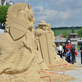 Sochy z písku v Písku