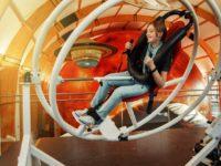 Expozice Vesmír - Techmania Science Center