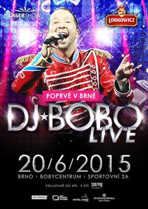 DJ BOBO LIVE přijíždí do nového Bobycentra!