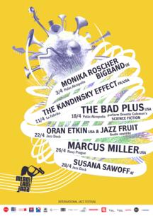 Již příští pátek 3. dubna startuje festival Mladí Ladí jazz a přiveze hvězdy americké jazzové scény