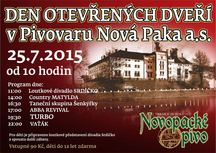 Léto s Pivovarem Nová Paka