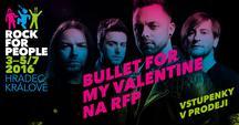 Rock for People 2016: Hradec, vstupenky, nový web, řada překvapení a... Bullet for My Valentine