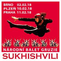 Národní balet Gruzie SUKHISHVILI v Praze, Brně a Plzni