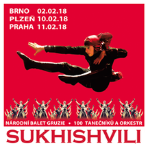 Národní balet Gruzie SUKHISHVILI v České republice