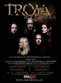 Kam na Silverstra? RockOpera uvede poslední den v roce novou operu Troja v koncertní verzi