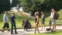 Park Boheminium v Mariánských Lázních - Guliverova cesta za českými památkami