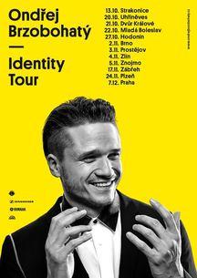 Ondřej Brzobohatý vyrazí v říjnu na podzimní Identity Tour