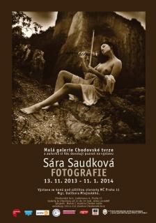 Sára Saudková - fotografie - výstava v Chodovské tvrzi