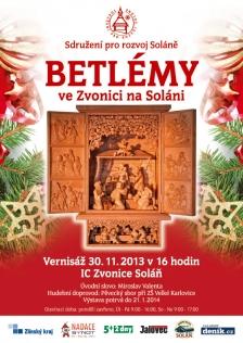 Betlémy ve Zvonici na Soláni na Vsetínsku