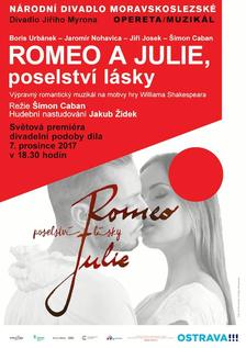 Romeo a Julie: Poselství lásky - Divadlo Jiřího Myrona