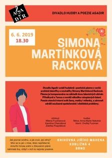 Agadir uvádí... Simona Martínková Racková